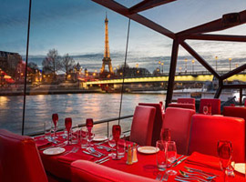 Offer a prestige dinner cruise