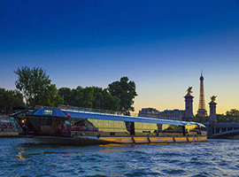 Offer an Excellence dinner cruise